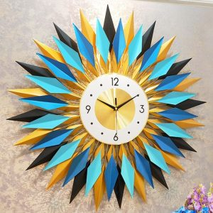 LIN שעון קיר מעוצב ממתכת