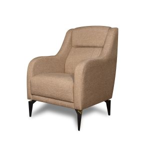 Adore_כורסא מעוצבת צבע חום בהיר מבית ברדקס