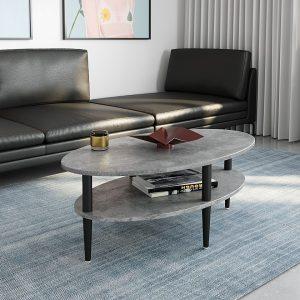 שולחן סלון OREGON עם מדף תחתון