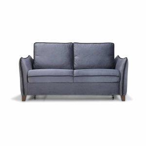 ספה LEVON דו-מושבית נפתחת למיטה זוגית עם ארגז מצעים