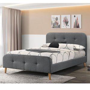 NURIT מיטה זוגית מרופדת