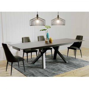 BARCELONA פינת אוכל כוללת שולחן ו6 כסאות
