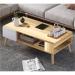 TESS שולחן סלון עם מגירה צבע אלון מבית ברדקס
