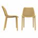 PRIDE כסא לפינת אולכ מפלסטיק צבע צהוב מבית ברדקס