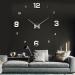שעון קיר תלת מימדי 12S005_silver