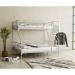 NOVA מיטת קומותיים ממתכת צבע אפור מבית ברדקס