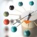 שעון קיר מעוצב Ball-Clock-4