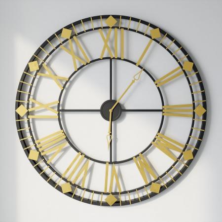 ORLANDO שעון קיר מעוצב