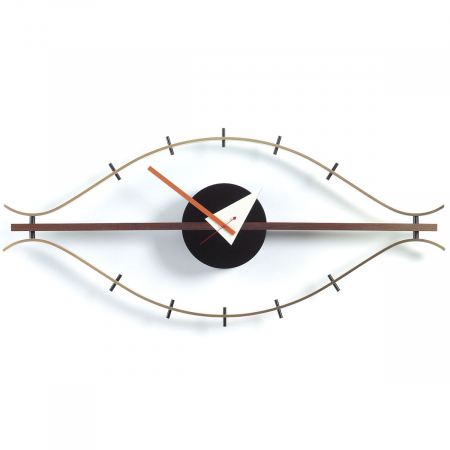 שעון קיר מעוצב EYE CLOCK מבית ברדקס