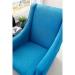 Mare_כורסא מעוצבת צבע טורקיז