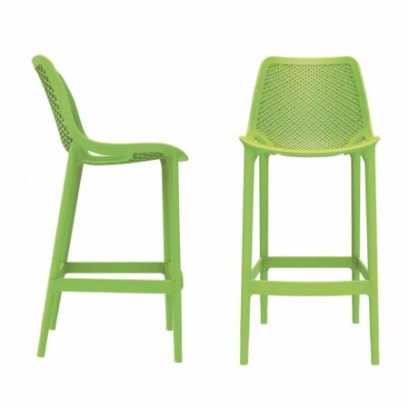 PRIDE כסא בר מפלסטיק צבע ירוק