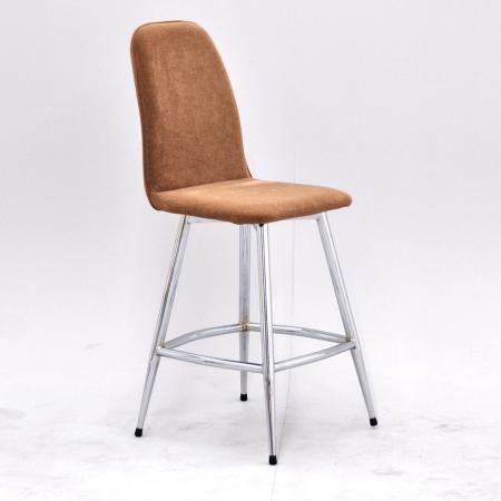 VESPA כסא בר חום רגל ניקל