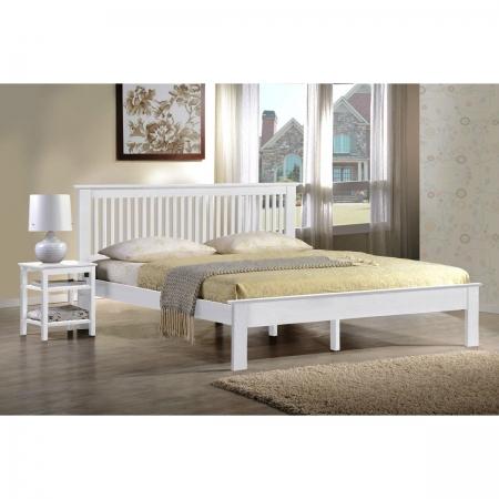 מיטה זוגית מעץ Latina