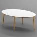 Royal_שולחן סלון לבן