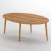 Royal_שולחן סלון אגוז