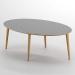 Royal_שולחן סלון אפור עתיק