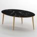 Royal_שולחן סלון שיש שחור