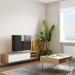 Aero_סט שולחן סלון ומזנון טלוויזיה מבית ברדקס