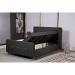 PERA מיטה זוגית 140*190 ס''מ עם ארגז מצעים כוללת זוג מזרנים מובנים מבית ברדקס