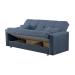 Nary ספה תלת מושבית נפתחת למיטה עם ארגז מצעים