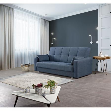 Nary ספה תלת מושבית נפתחת למיטה עם ארגז מצעים מבית ברדקס