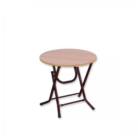 שולחן מתקפל עגול קוטר 60 ס''מ