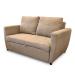 Bravo_ספה דו-מושבית נפתחת למיטה זוגית צבע חום בהיר