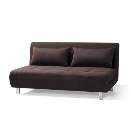 S3025-ספה נפתחת למיטה זוגית צבע חום מבית ברדקס