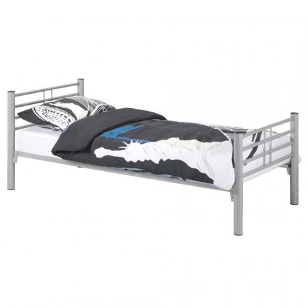 Kalia מיטת יחיד ממתכת אופוויט