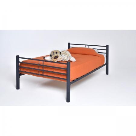 KALIA מיטת מתכת ברוחב וחצי 120*190 ס''מ מבית ברדקס