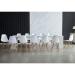 Dominic_שולחן עם כסאות צבע לבן