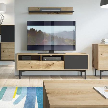 AYELET מזנון טלוויזיה מעוצב 151 ס''מ