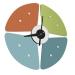 שעון קיר מעוצב PETAL מבית ברדקס