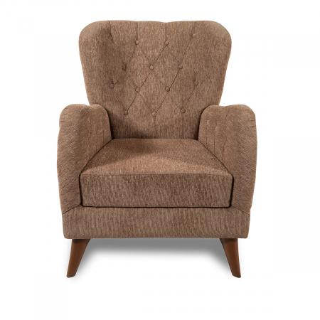 Kinda_כורסא מעוצבת צבע חום