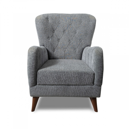 Kinda_כורסא מעוצבת צבע אפור