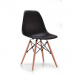 URSULA כסא מעוצב לפינת אוכל שחור