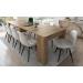 ALBA_שולחן מודולרי נפתח עד 3 מטרים אלון