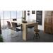 Dominic_שולחן מודולרי נפתח עד 3 מטרים אלון מבית ברדקס