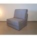 Dream כורסא נפתחת למיטה אפור בהיר