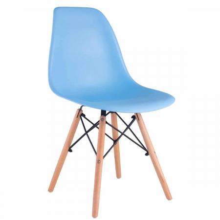 Ursula כסא לפינת אוכל כחול