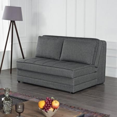 Satis ספה נפתחת למיטה זוגית עם ארגז מצעים אפור בהיר מבית ברדקס