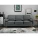 ספה תלת מושבית אפור Mardi