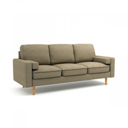 Mardi_ספה תלת מושבית צבע חום בהיר מבית ברדקס