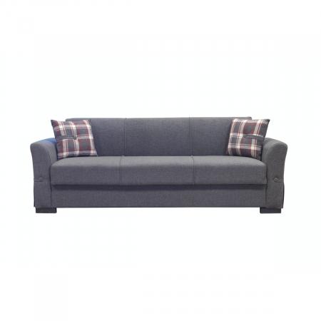 VERSUS ספה תלת מושבית נפתחת למיטה עם ארגז מצעים מבית ברדקס
