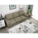 Mardi_ספה תלת מושבית צבע חום בהיר