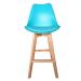 Prost_כסא בר צבע טורקיז