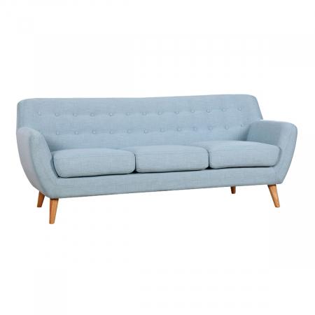 Picasso_ספה תלת מושבית כחול