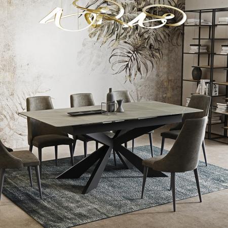 SEVILLA פינת אוכל עם 4 כסאות