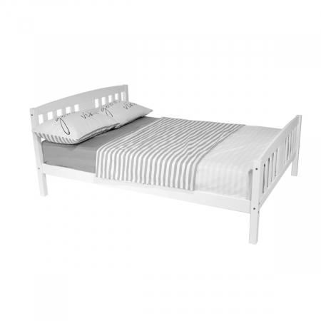 DEYA מיטה זוגית מעץ מלא 140*190 ס''מ מבית ברדקס