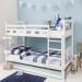 DIANA מיטת קומותיים עם מיטת חבר כולל מזרנים מבית ברדקס